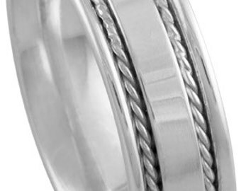 14K 7mm men's band