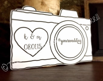 Wedding Signage, #tag sign, if you instagram wedding sign