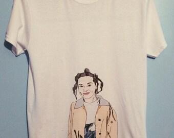 Björk 90s graphic t-shirt (#1)