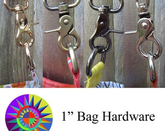 "1"" Hardware Set for Handbags and Purses"