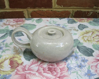 Russel Wright Gray Sugar Bowl with Lid, Steubenville Mid Century