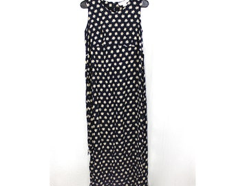 ON SALE Daisy Print Maxi Dress