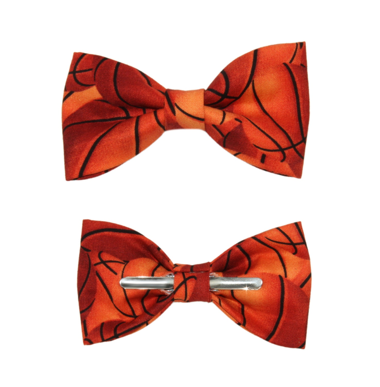 Basketball Clip On Bow Tie Men / 2T 3T / 12-18 Months