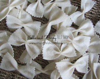 Felt Farfalle Pasta ~ READY TO SHIP