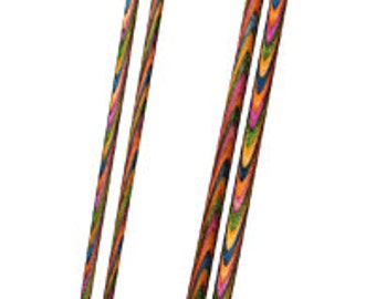 Knit Pro Symfonie Wood Straight Needles Single Pointed 25cm
