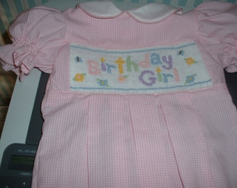 Made to Order Birthday Dress or Bubble