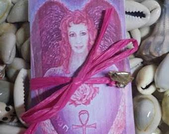 Archangel Chamuel , Conjure Card, Voodoo, Hoodoo, Sachet, Talisman, Altar, Spiritual, Wiccan, Pagan