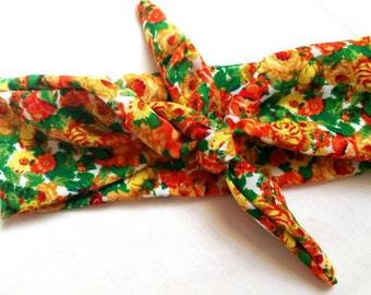Floral Headwrap/Bandana