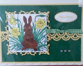 Handmade A5 Size Easter Card