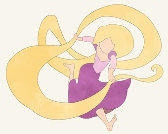 Disney Princess Rapunzel Tangled
