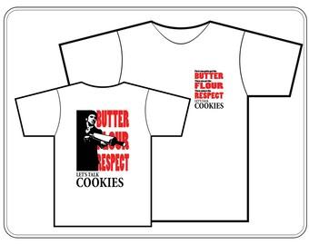 Let's Talk Cookies Scarbake Tshirt