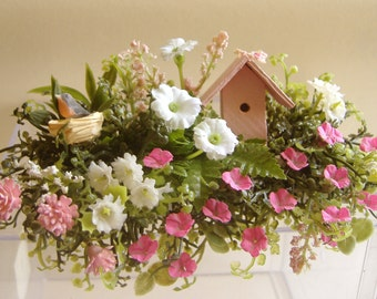 Dollhouse Miniature 1:12 Window Box Handmade by DeVine Miniatures #WB-017