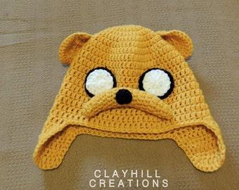 Crochet Adventure Time - Jake Hat