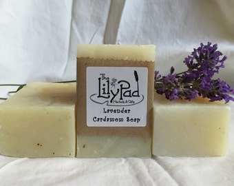 SOLD OUT Lavender Cardamom Soap. Cold-process soap, essential oils, gentle, biodegradable, gift for man, earthy, natural, great lather