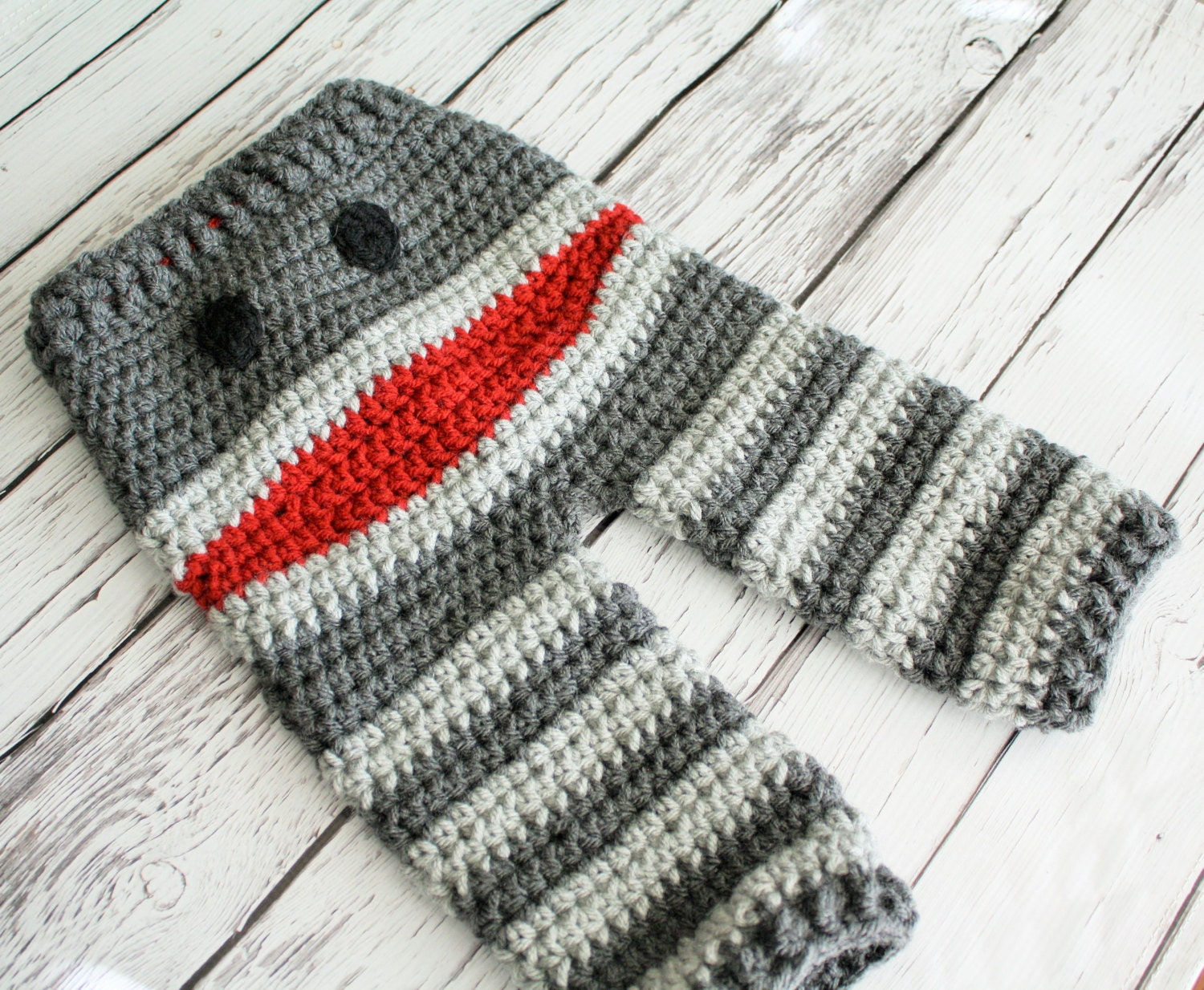 Baby pants patterns crochet monster and sock monkey pants this is a digital file bankloansurffo Images