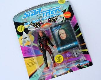1993 Star Trek K'EHLEYR Figurine NEW in Box The Next Generation Space The Final Frontier Vintage Star Trek