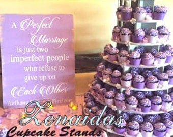 Cupcake Stand Large Round 150 Cupcakes Threaded By