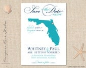 RESERVED for MJ - Custom Wedding Map Save The Date