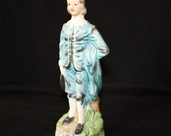 Vintage Blue Boy Figurine