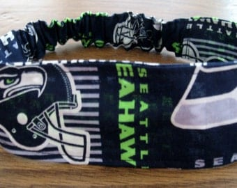 NFL-Seattle Seahawks - Headband-Fabric/Lined(Fabric-2)  Shipping Included