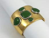 Vintage Robert Goossens Paris Huge Cuff Statement Bracelet