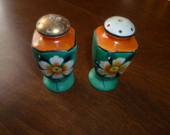 Vintage Colorful Salt and Peppers