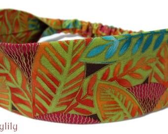Floral Leaf Headband by Sheylily