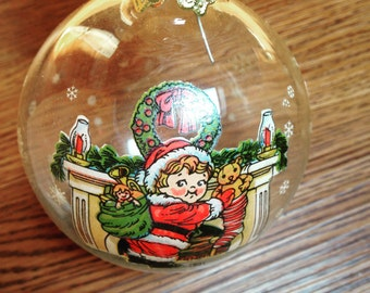 Campbell Kids Christmas Ornament 1991
