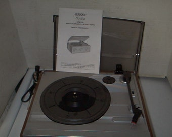 Working Jenson Stereo AM FM Turntable Unit
