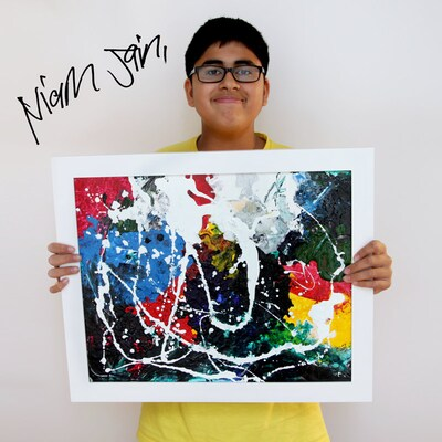Incredible - this teen with autism is wooing art collectors with his paintings