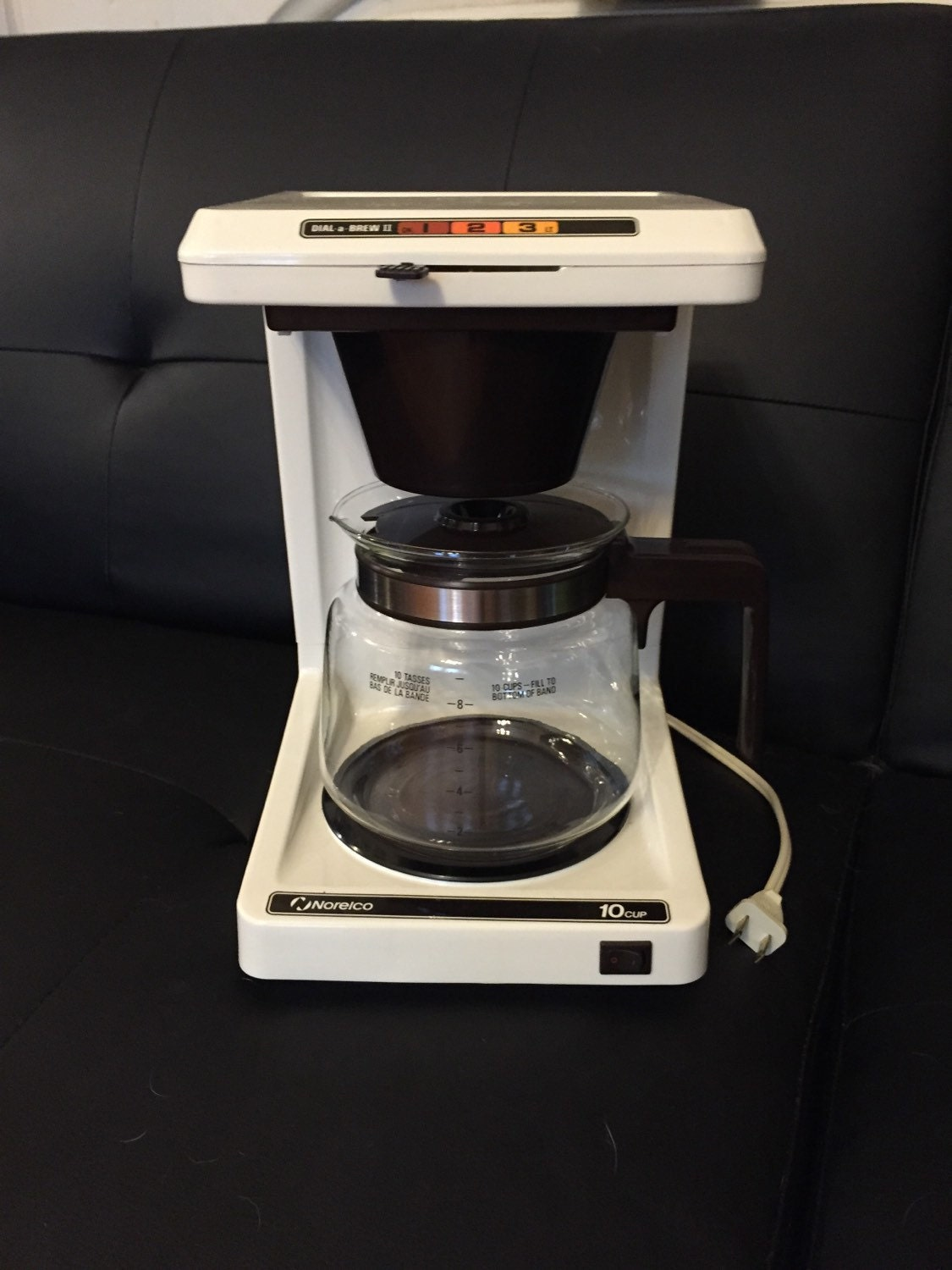 Coffee Makers That Use Pouches : Norelco 10 Cup Dial a Brew II Coffee Maker by ABCVintageFinds