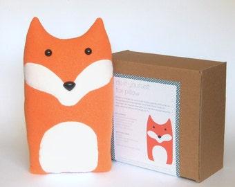 Handmade Woodland Animal Character Pillows & by FluffedAnimals