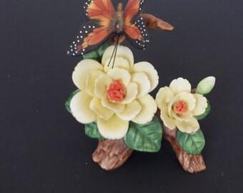 Lovely Lefton Butterfly Figurine