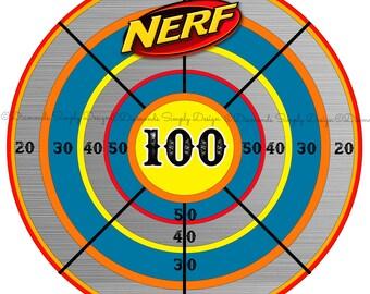 Nerf Bullseye Poster