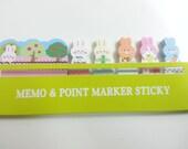 Sale Point Marker Sticky (Lovely Rabbit)  - 180 sheets