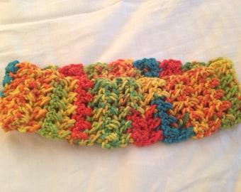 Multicolored earwarmer
