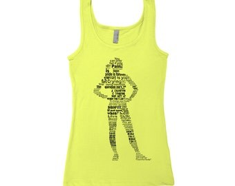 Workout Saying Women Tank Top Jersey Tank Hand Screen Printed S,M,L,Xl 8 Colors Available
