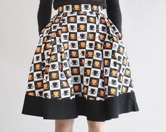 C.U.P.S cotton pleat skirt