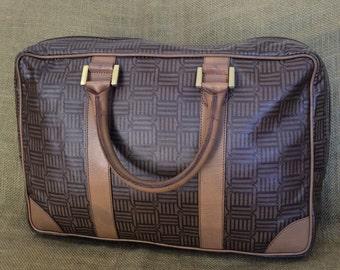 Vintage Roberta Di Camerino signature briefcase portfolio brief RARE