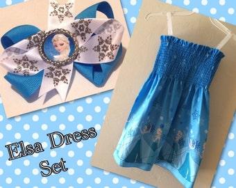 Elsa Dress Set