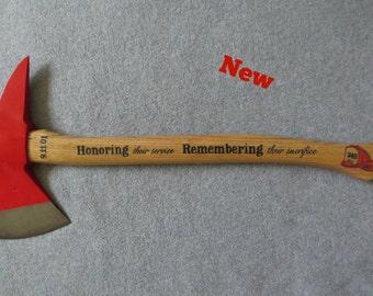 NEW **Design** Commemorative 9/11  Firefighter Axe