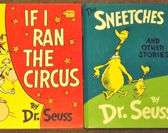 If I Ran the Circus and The Sneetches and Other Stories by Dr. Seuss