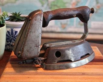 Antique Gas-Powered Steam Iron