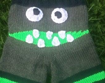 Knit Monster Longies