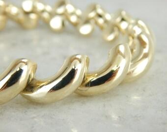 Vintage Fine Gold San Marco Bracelet in Yellow Gold ZP5ZLX-P