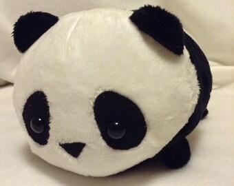 Medium Panda Bear Stuffed Animal Plush - MADE TO ORDER