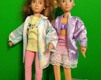1986 Mattel Hot Looks Dolls