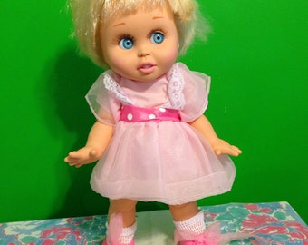 Galoob Baby Face Doll So Innocent Cynthia 1990