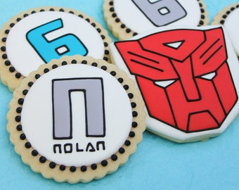 Transformers Mix Cookies