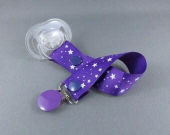 Dummy Clip - Tiny Stars Purple